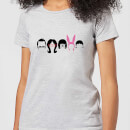 Bobs Burgers Hair Silhouette Women's T-Shirt - Grey
