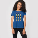 Bobs Burgers The Many Faces Of Tina Dames T-shirt - Blauw
