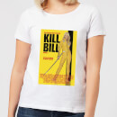 Kill Bill Poster Women's T-Shirt - White