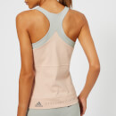 adidas by Stella McCartney Women's Yoga Comfort Tank Top - Pearl Rose/Stone