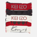KENZO Men's Chunky Multi Icons Scarf - Multicolour