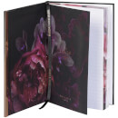 Ted Baker Soft Touch A5 Notebook - Black Bow