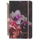 Ted Baker Mini-Notizbuch und Stift – Black Splendour