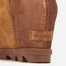 Sorel Women's Joan of Arctic II Shearling Wedged Boots - Camel Brown