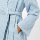Ganni Women's Woodside Belted Coat - Serenity Blue