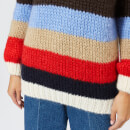 Ganni Women's The Julliard Mohair Jumper - Multi