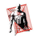 Marvel Knights Daredevil Cage Men's T-Shirt - White