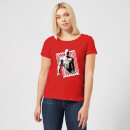 Marvel Knights Daredevil Cage Women's T-Shirt - Red