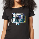 T-Shirt Femme Bulles de Comics Jessica Jones - Marvel Knights - Noir