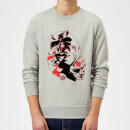 Marvel Knights Daredevil Layered Faces Sweatshirt - Grey