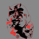Marvel Knights Daredevil Layered Faces Women's Sweatshirt - Grey