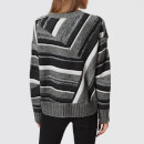 Helmut Lang Women's Long Sleeve Ombre Jumper - Shadow