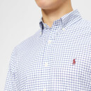 Polo Ralph Lauren Men's Formal Check Twill Shirt - Royal/White