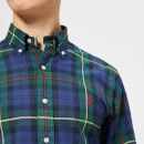 Polo Ralph Lauren Men's Check Pocket Shirt - Navy/Pine Multi