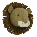 Fiona Walker England Mini Lion Wall Hanging Head