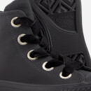 Converse Women's Chuck Taylor All Star Big Eyelets Hi-Top Trainers - Almost Black/Gold