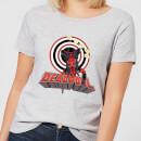 Marvel Deadpool Upside Down Women's T-Shirt - Grey