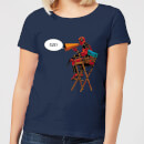 Marvel Deadpool Director Cut Women's T-Shirt - Navy