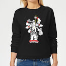 Marvel Deadpool Multitasking Women's Sweatshirt - Black
