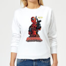 Marvel Deadpool Hey You Women's Sweatshirt - White