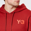 Y-3 Men's Classic Crew Neck Hoodie - Rust Red