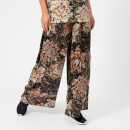 Y-3 Women's All Over Print Wide Pants - Flower Camo AOP