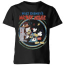 Disney Retro Poster Piano Kids' T-Shirt - Black