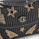 Coach Women's Quilted Crystal Parker Shoulder Bag - Black