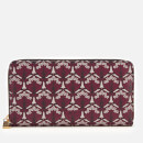 Liberty London Women's Iphis Large Zip Wallet - Oxblood