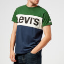 Levi's Men's Colorblock T-Shirt - Eden