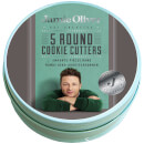Jamie Oliver Round Cookie Cutters - Set of 5