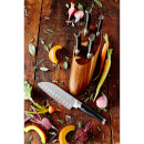 Jamie Oliver 5 Piece Acacia Knife Block