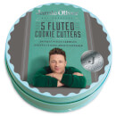 Jamie Oliver Fluted Cookie Cutters