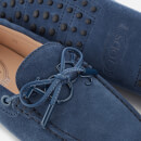 Tod's Women's Suede Driving Shoes - Blue