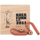 Kreafunk bGEM Bluetooth Wireless In-Ear Headphones - Soft Coral
