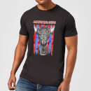 American Gods Skull Flag Men's T-Shirt - Black