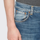 Nudie Jeans Men's Sleepy Sixten Straight Jeans - Celestial Orange