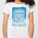Frozen Snow Poster Women's T-Shirt - White