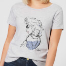 Disney Frozen Elsa Sketch Women's T-Shirt - Grey