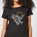 Harry Potter Werewolf Line Art Women's T-Shirt - Black