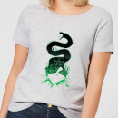 Harry Potter Nagini Silhouette Damen T-Shirt - Grau
