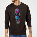 Harry Potter Neon Dark Mark Sweatshirt - Black