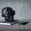 Jarre AeroSkull XS + Bluetooth Portable Speaker - Chrome Black