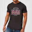 East Mississippi Community College Lions Distressed Men's T-Shirt - Black