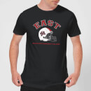 East Mississippi Community College Helmet Men's T-Shirt - Black