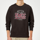 East Mississippi Community College Lions Distressed Sweatshirt - Black