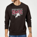 East Mississippi Community College Distressed Lion Sweatshirt - Black