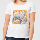 Natural History Museum What Does The Gray Fox Say? Women's T-Shirt - White