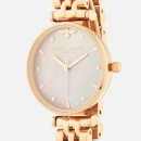 Olivia Burton Women's Queen Bee Bracelet Watch - Pink Mother-Of-Pearl/Rose Gold