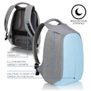 XD Design Bobby Compact Anti Theft Backpack Bag - Pastel Blue